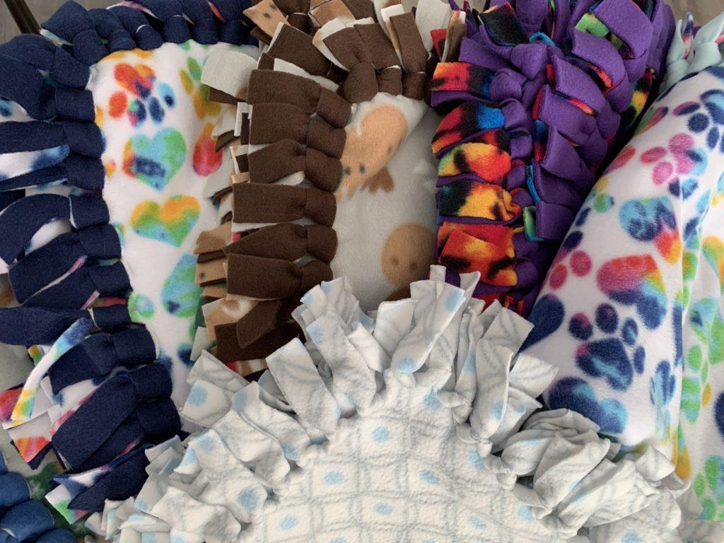 Fleece Adoption Blankets
